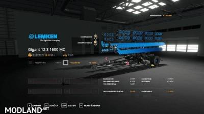 Lemken Heliodor12S - MultiColor v 1.0