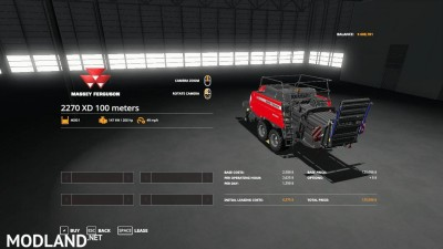 Massey Ferguson 2270 100 meter baler v 1.0, 4 photo