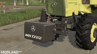 MB Trac Gewichte v 1.0