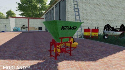 Motyl NO31M fertilizer spreader v 1.0