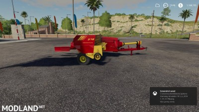 New Holland 378 Baler with Options v 1.2, 4 photo