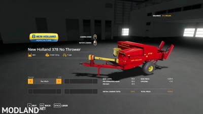 New Holland 378 Baler with Options v 1.2, 1 photo