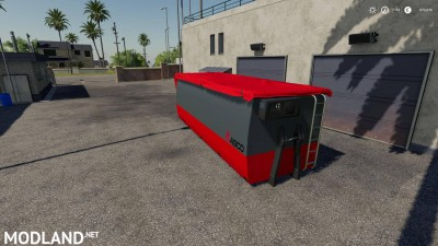 Peecon hooklift Auger Container v 1.0, 2 photo