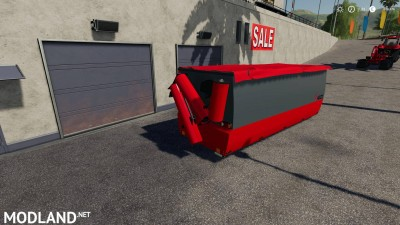 Peecon hooklift Auger Container v 1.0, 3 photo