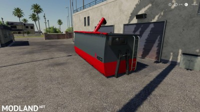 Peecon hooklift Auger Container v 1.0, 4 photo
