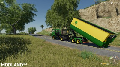 Peecon hooklift Auger Container v 1.0, 7 photo