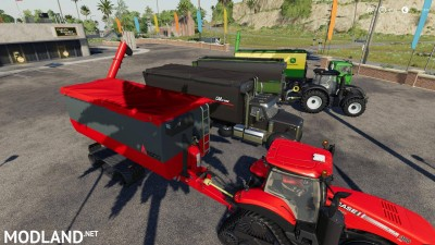 Peecon hooklift Auger Container v 1.0, 1 photo