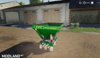 Praskovac hnojiv JZD Spalov v 1.0