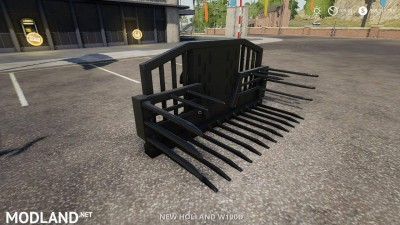 Silage fork 40000 liters v 1.0, 5 photo
