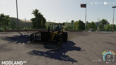 Silage fork 40000 liters v 1.0, 7 photo