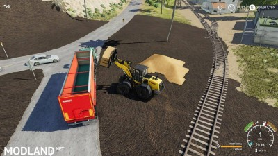 Silage fork 40000 liters v 1.0, 8 photo