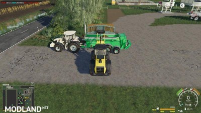 Silage fork with capacity selection and color choice v 1.2, 3 photo