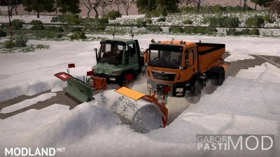 Snow pack with optional parts v 1.0.2, 2 photo