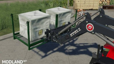 Stoll Pallet And Bale Fork v 1.0, 2 photo