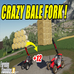 AutoLoad Round and Square Bale Fork