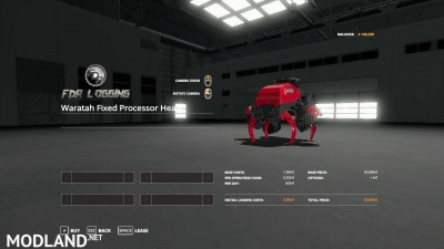Waratah Fixed Processor Head V 1.0