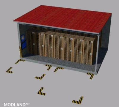 Warehouse for pallets Multimap2019 v 1.0, 2 photo