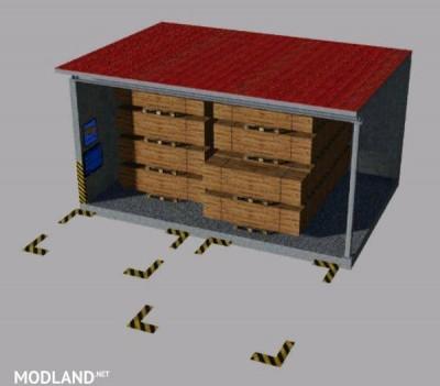 Warehouse for pallets Multimap2019 v 1.0, 3 photo