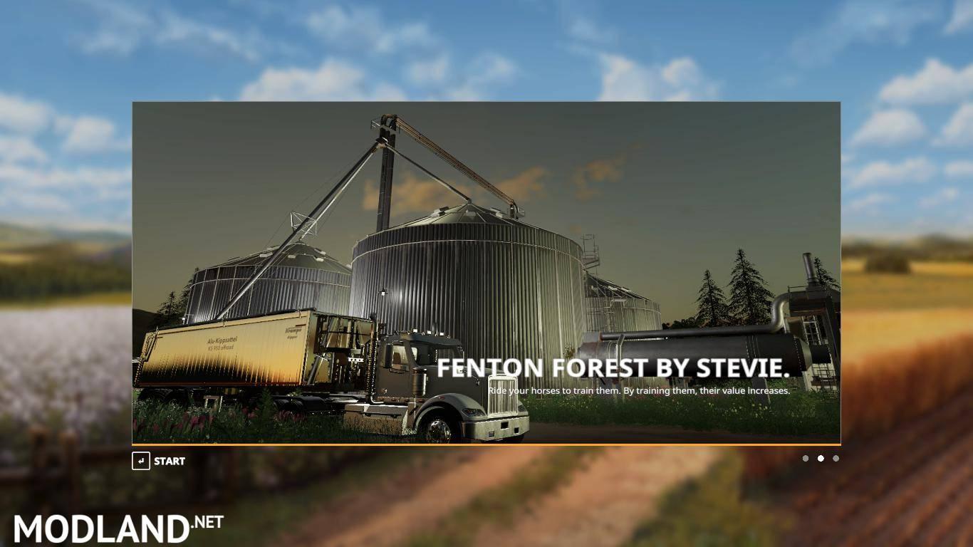 FS19 Fenton Forest v 1 3 By Stevie