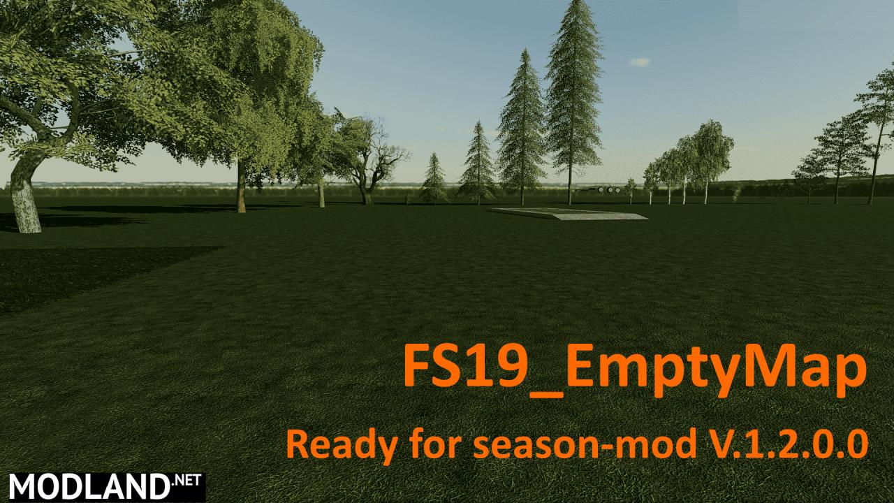 FS19 Empty Map