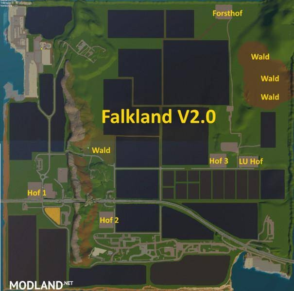 Falkland Map