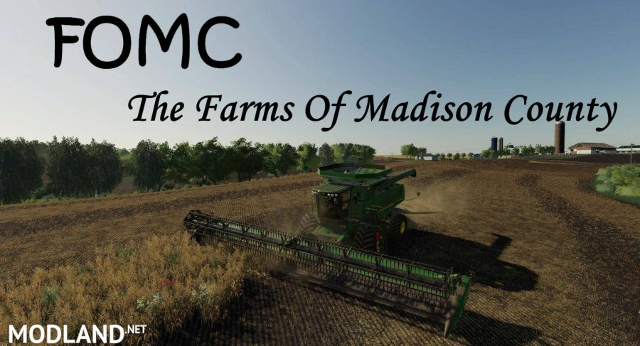 Farms Of Madison County 4X map