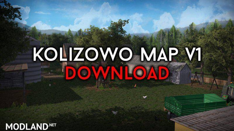 Kolizowo Map