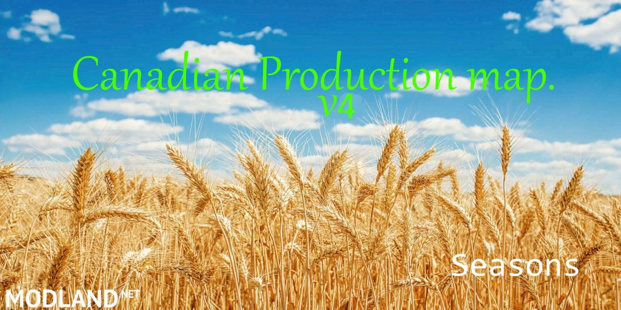 Canadian Production Map V4. 8x Season