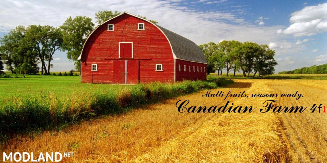 Canadian Farm Map 4F1 Multifruits, seasons, missions