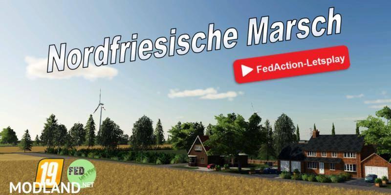 Nordfriesische Marsch Seasons and Global Company ready
