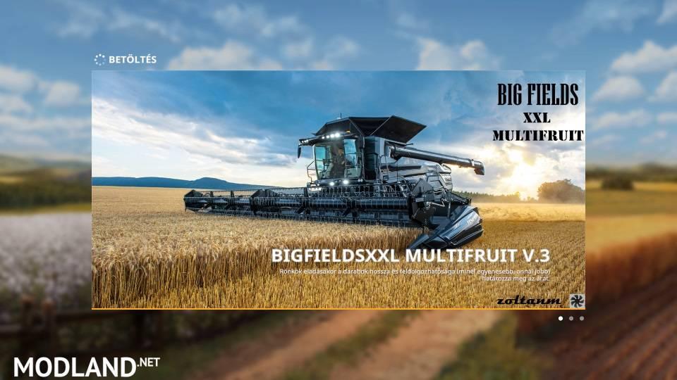 FS19 BigFields XXL Multifruit zoltanm