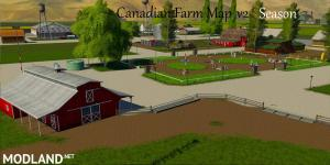 Canadian Farm Map 4x Multifruits, seasons, 1 photo