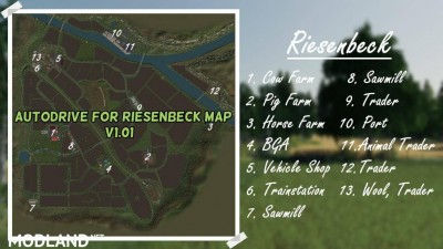 AUTODRIVE FOR RIESENBECK MAP v 1.01, 1 photo