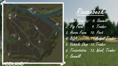 AutoDrive for Riesenbeck Map v 1.0, 1 photo