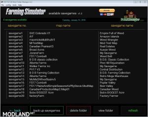 Farming Simulator Mod Folder Manager v 1.2, 1 photo