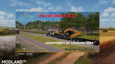 Ferda Logging Northwest BC Logging map v 1.0, 1 photo