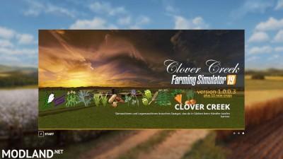 FS19 Clover Creek Map + 12 crops v 1.0, 1 photo