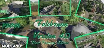 Felsbrunn Map v 4.0 by PsieCore - Real Farming Edition, 1 photo