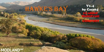 Hawke's Bay NZ Map v 1.4 - Direct Download image