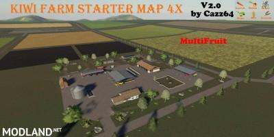 KIWI FARM STARTER MAP 4X MULTI FRUIT v 2.0, 1 photo