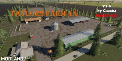Taylor's Farm Multiftiut 4x v 1.0 - External Download image
