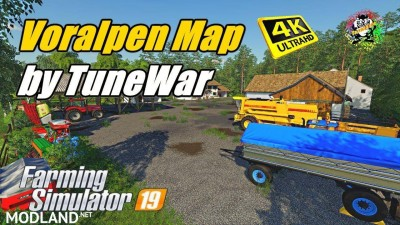 Voralpen Map v 1.1
