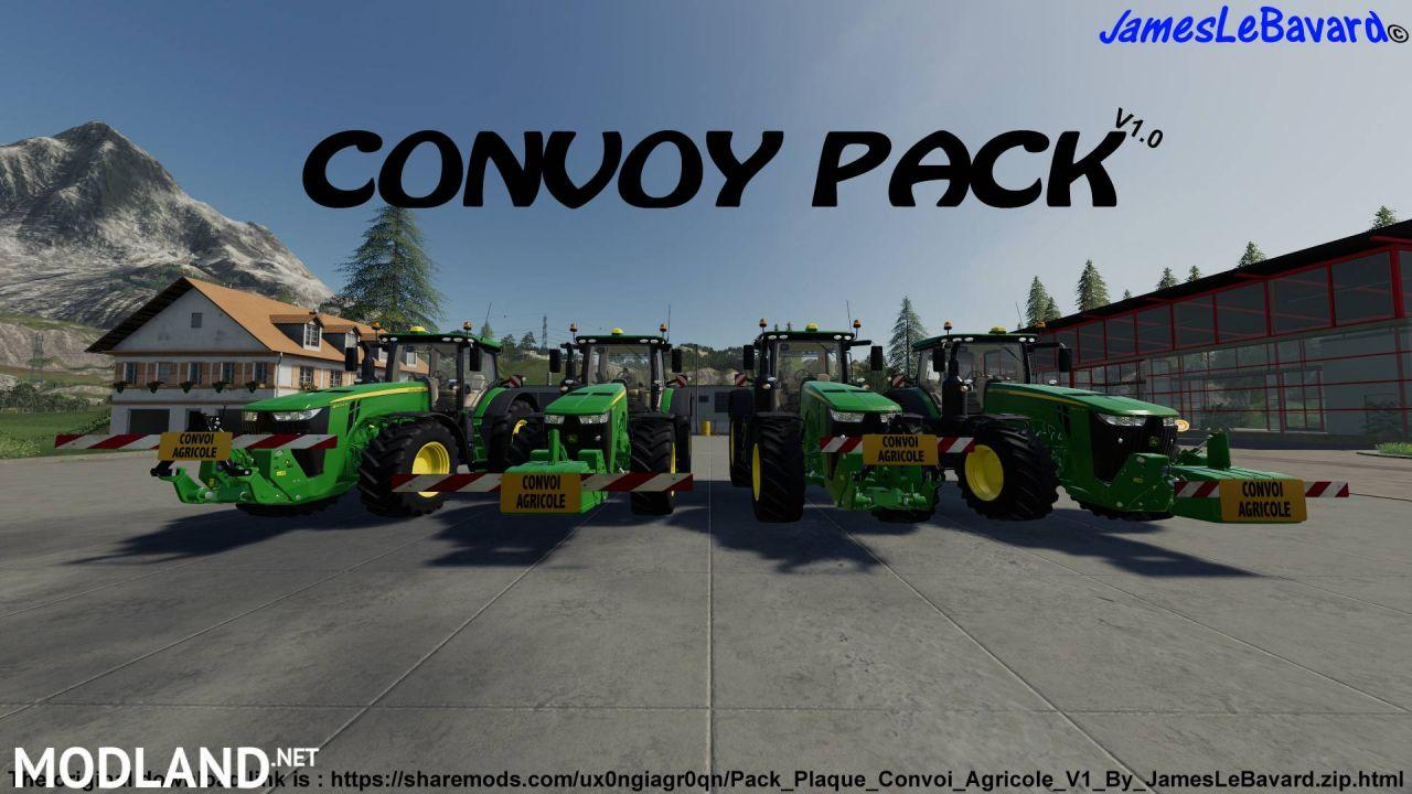 Pack Plates Farm Convoy