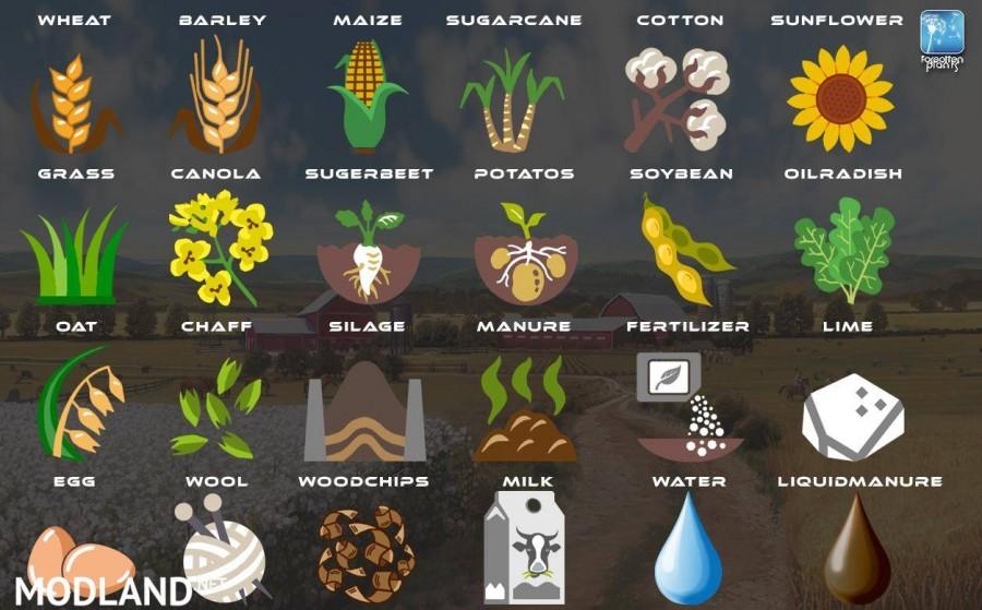 Forgotten Plants - Icons
