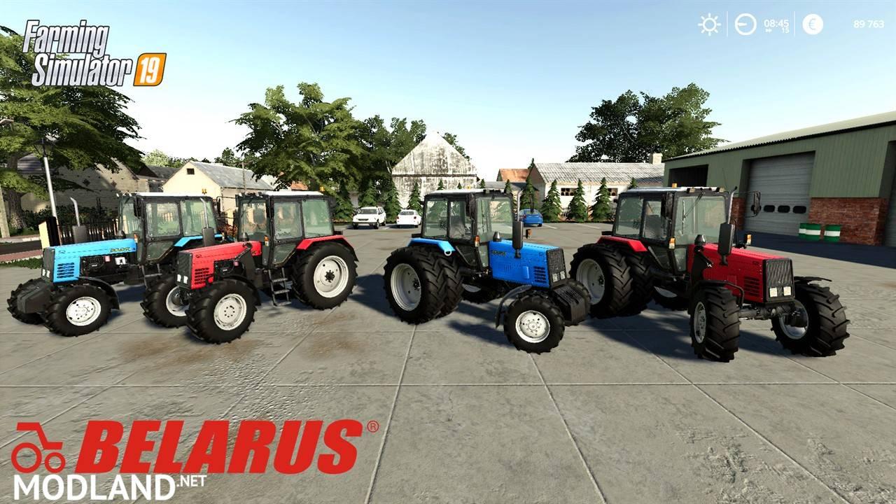 MTZ Belarus 820 & 1025
