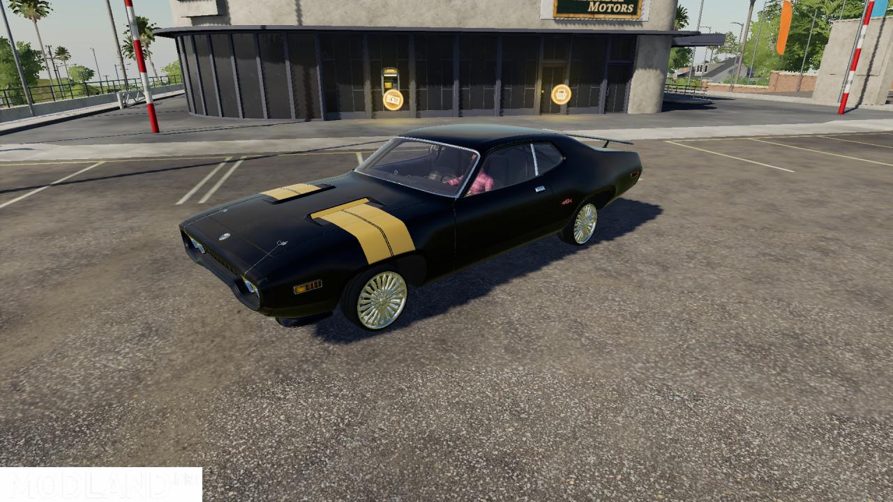 FS19 Plymouth GTX Fast8