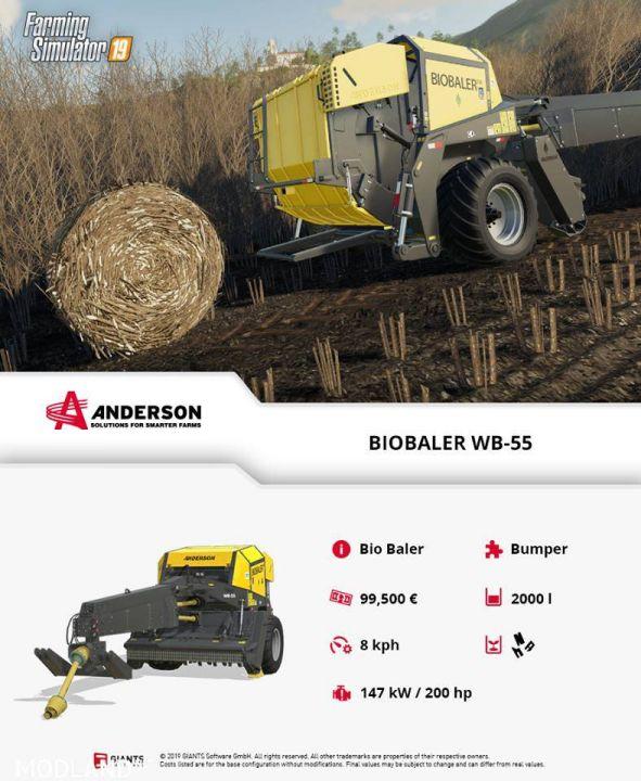 B.O.B. Farming News - Four More Anderson DLC Factsheets