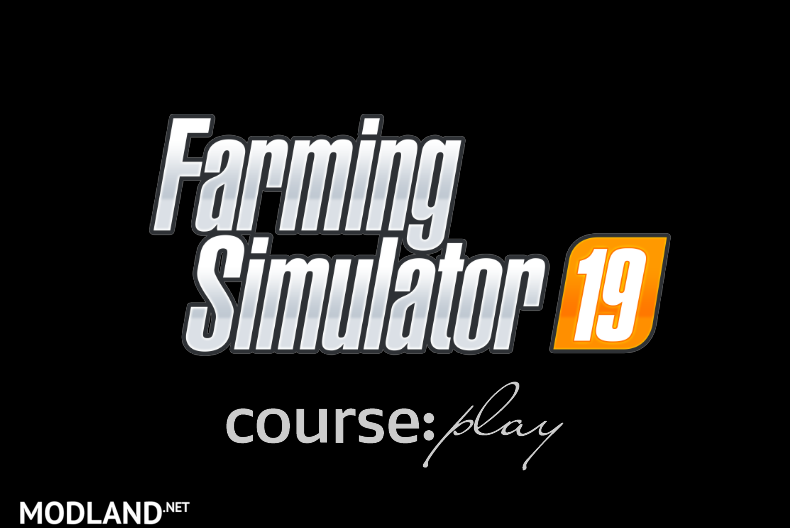 The Release of CoursePlay Mod for FS 19