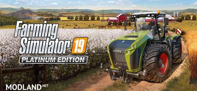 Farming Simulator 19 Platinum Edition Coming This Fall