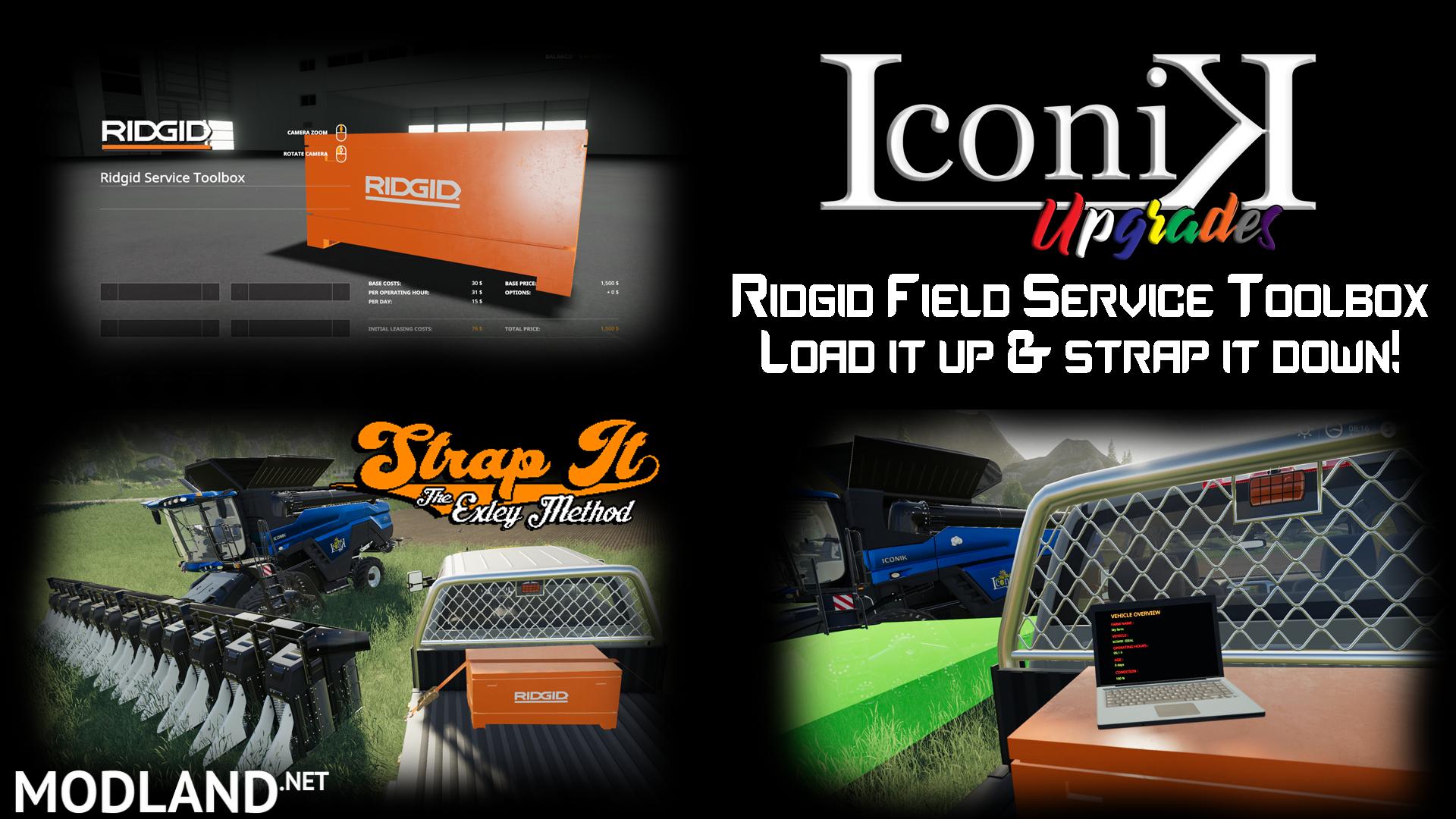 iconik ridgid service toolbox